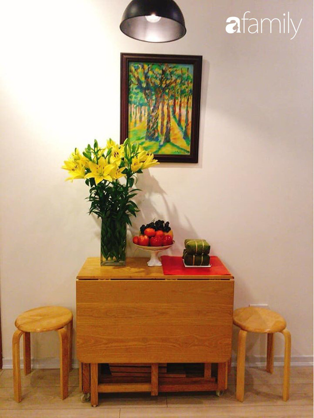 Học lỏm cách sắp xếp nhà gọn đẹp, ngăn nắp của mẹ đảm tại Hà Nội, đảm bảo ai nhìn một lần cũng thích mê - Ảnh 2.