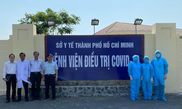 Bên trong bệnh viện 300 giường chuyên điều trị bệnh Covid-19  - Ảnh 8.