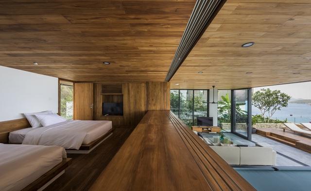 Biệt thự nghỉ dưỡng hình hộp gỗ trên ngọn đồi hướng biển ở Nha Trang - Ảnh 3.