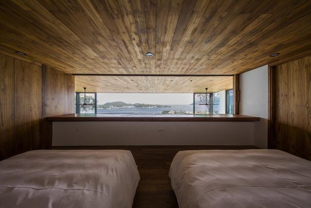 Biệt thự nghỉ dưỡng hình hộp gỗ trên ngọn đồi hướng biển ở Nha Trang - Ảnh 4.