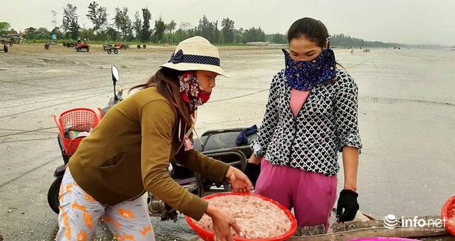 Trúng đậm mùa ruốc biển, ngư dân xứ Nghệ kiếm tiền triệu mỗi ngày - Ảnh 4.