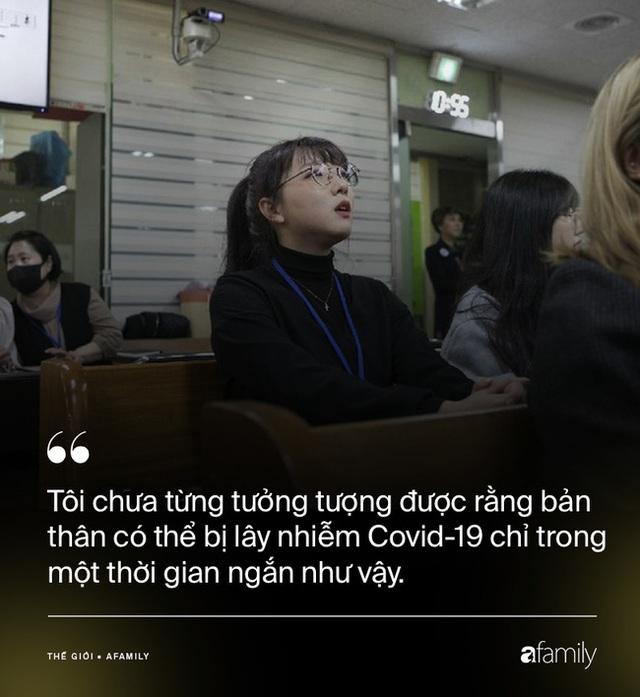 Chỉ 10 phút cởi bỏ khẩu trang, nữ sinh Hàn Quốc bị lây nhiễm Covid-19 từ người bệnh và trải nghiệm đau đớn: Tôi cảm giác như ruột bị xé toạc - Ảnh 1.