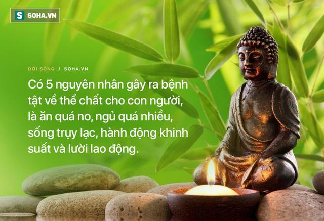 Bệnh tật đầy mình đến tìm Đức Phật, người đàn ông giật mình khi Ngài chỉ rõ 5 nguyên nhân - Ảnh 2.