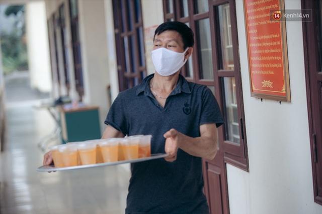 Những chú bộ đội, nhân viên y tế qua ống kính một du học sinh đang cách ly ở Bắc Ninh: Thật hạnh phúc khi được ở đây! - Ảnh 14.