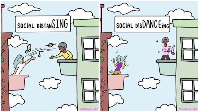 Cách ly xã hội (social distancing) trong mùa dịch giúp chúng ta có cơ hội sống chậm lại, gắn kết với gia đình hơn, nấu ăn nhiều hơn và giao tiếp xã hội nhiều hơn. - Ảnh 3.
