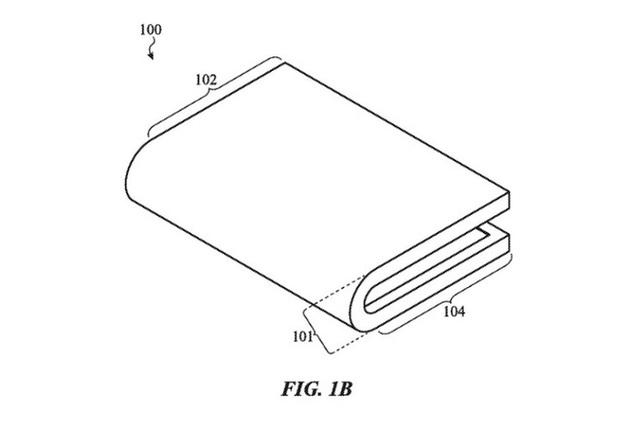 Bằng sáng chế mới của Apple cho thấy một chiếc iPhone màn hình gập sẽ không còn xa - Ảnh 1.