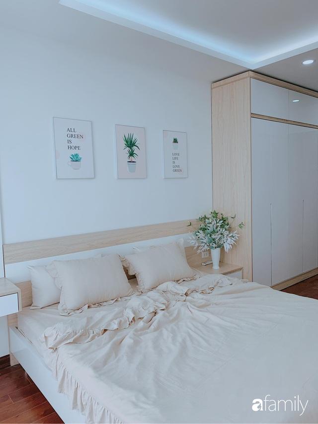 Căn hộ 90m² như được nhân đôi không gian nhờ cách decor khéo léo với sắc trắng ở Hà Nội - Ảnh 16.