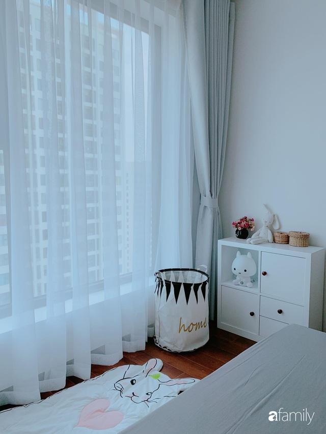 Căn hộ 90m² như được nhân đôi không gian nhờ cách decor khéo léo với sắc trắng ở Hà Nội - Ảnh 17.