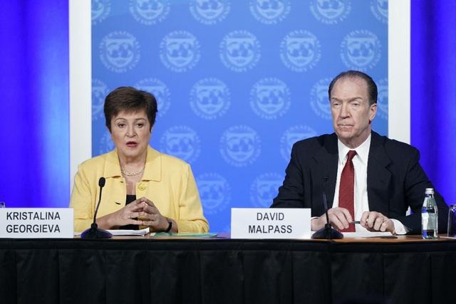 IMF tung gói hỗ trợ 50 tỷ USD hỗ trợ các quốc gia bị ảnh hưởng bởi Covid-19, giảm dự báo tăng trưởng kinh tế thế giới - Ảnh 2.