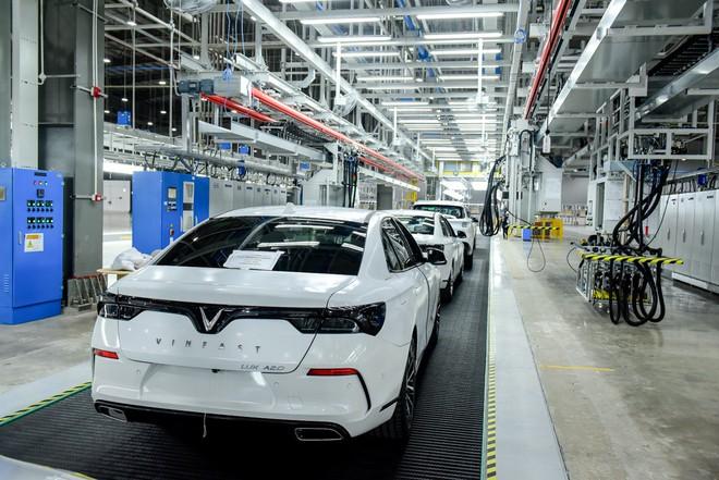 vinfast - vf 6606 15579628714511028600868 - Hé lộ hình ảnh bên trong nhà máy sản xuất ô tô sắp khánh thành của VinFast