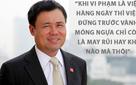 Ông Nguyễn Duy Hưng nhắn nhủ dân tài chính: Đừng ham tiền mà nghe Sếp làm trái pháp luật, vào vòng lao lý tiền bạc chẳng còn ý nghĩa gì...