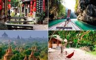 Những thiên đường du lịch ngay gần Việt Nam bạn nên tới trong mùa hè này