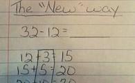 Cách giải 32 - 12 = 20 đã lỗi thời ở Mỹ