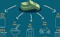[Infographic] Người Việt mua được gì với một tháng lương?