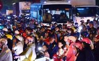 Kẹt xe hàng giờ không nhúc nhích ở Sài Gòn