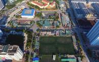 Khu đô thị nhiều bãi đỗ, showroom ôtô nhất Hà Nội