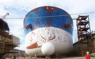 Lỗ nặng, nhà máy đóng tàu Dung Quất bên bờ phá sản