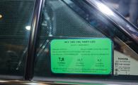 Hết năm nay, ô tô dưới 9 chỗ ngồi phải dán nhãn năng lượng
