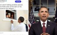 Cựu Tổng thống Mỹ Barack Obama đã xô đổ kỷ lục trên Twitter với dòng tweet nổi tiếng nhất mọi thời đại