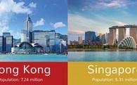 So găng Hồng Kông vs Singapore: Sống và làm việc ở đâu tốt hơn?