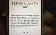 SIM ghép 4G đã bị khoá, người dùng iPhone lock hết sức cẩn thận!