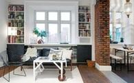 Nhờ cách bài trí nội thất thông minh, căn hộ diện tích nhỏ trở thành không gian đáng sống