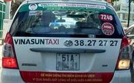 Ai đã dán decal phản đối Uber, Grab lên xe taxi của Vinasun, Mai Linh?