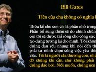 3 điều tỷ phú Bill Gates khuyên cha mẹ nên làm nếu muốn nuôi dạy con thành công