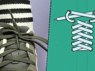 """Đây mới là cách xỏ lỗ dây giày """"chính hiệu"""" mà bạn thường nhầm lẫn"""