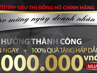 Tri ân nhân ngày Doanh nhân Việt Nam 13/10, TẬN HƯỞNG THÀNH CÔNG – Nhận ngay 5.000.000 tiền mặt khi mua các sản cao cấp.
