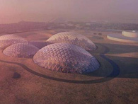 Các Tiểu vương quốc Ả Rập xây các nhà vòm tại sa mạc để thử nghiệm cho dự án đưa người lên sao Hỏa