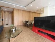 """Với 350 triệu, căn hộ ở quận Thanh Xuân đã """"lột xác"""" hoàn toàn theo yêu cầu rẻ, đẹp, hiện đại của chủ nhà"""