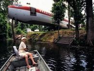 Căn nhà độc đáo, vạn người mê được làm từ chiếc máy bay cũ Boeing 727