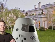 Toàn cảnh biệt thự 72 triệu USD của tỷ phú 'dị nhân' Elon Musk