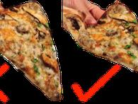 Đa phần chúng ta đang ăn pizza sai cách, vậy đâu là cách ăn đúng?