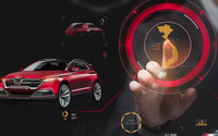 VINFAST ra mắt xe tại Triển lãm Paris Motor Show 2018