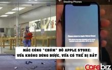 Apple Store bị cướp phá, Apple nhắc nhẹ 1 câu khiến kẻ trộm iPhone trong cuộc biểu tình tại Mỹ vội tìm cách trả lại!