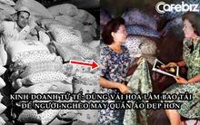 Phát hiện nhiều phụ nữ may quần áo bằng bao tải vì quá nghèo, công ty lúa mì ở Mỹ dùng vải hoa làm bao tải để mọi người có trang phục đẹp hơn