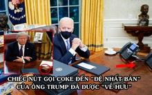 Vừa nhậm chức, ông Biden thẳng tay bỏ ngay nút bấm gọi Coke tại phòng Bầu dục của ông Trump