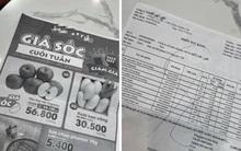 Pha xử lý đi vào lòng đất của nhân viên siêu thị B..Mart: Tận dụng mặt sau của hoá đơn để in tờ rơi, lộ luôn giá nhập hàng cho khách