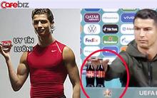Ronaldo từng quảng cáo cho Coca Cola trước khi thẳng tay 'dẹp' 2 chai nước ngọt, khiến hãng mất 4 tỷ USD