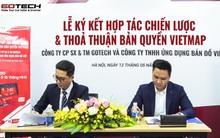 GOTECH ký hợp đồng thỏa thuận bản quyền Vietmap trị giá gần 30 tỷ đồng