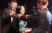 Vừa nghiên cứu sinh, vừa làm MC cho đài KBS, phiên dịch viên cho Samsung, LG,... cô gái 8X này là người Việt đầu tiên được ghi nhận là