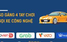 So găng Go-Viet vs Grab vs VATO vs FastGo: Ai là hùm thật? Ai là