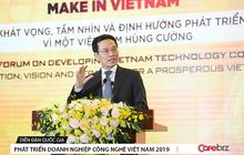 Bộ trưởng Nguyễn Mạnh Hùng kể câu chuyện Yeah1 và nhắn nhủ: Doanh nghiệp ICT nếu gặp khó,