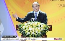 Thủ tướng Nguyễn Xuân Phúc: Thời gian không chờ đợi, cơ hội không tự đến, đã 30 năm lắp ráp gia công, nay đến lúc Việt Nam chuyển sang sáng tạo sản phẩm và công nghệ Việt
