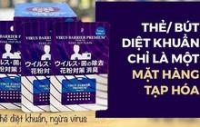Sự thật về thẻ và bút ngăn virus 'đồ Nhật xách tay': Là hàng tạp hóa, coi chừng nhiễm độc sinh học!