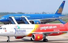 Vietnam Airlines và Vietjet Air delay hơn 17.000 chuyến bay trong nửa đầu năm 2018