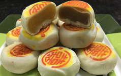 """""""Treo"""" bánh pía Sóc Trăng nhưng bán bánh của Hà Nội"""