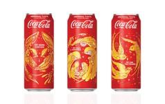 Coca-Cola tung 3 mẫu bao bì độc đáo đón Tết 2018